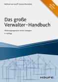 Das große Verwalter-Handbuch - inkl. Arbeitshilfen online (eBook, ePUB)