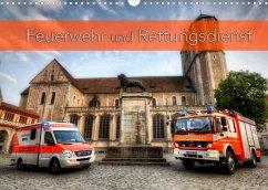 Feuerwehr und Rettungsdienst (Wandkalender 2022 DIN A3 quer)