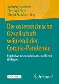 Die österreichische Gesellschaft während der Corona-Pandemie