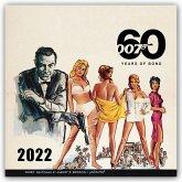 James Bond - No Time to Die 2022 - 16-Monatskalender