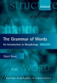 The Grammar of Words (eBook, PDF)