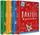Mathe, Physik, Chemie und Biologie ganz leicht im Paket