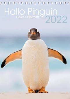 Hallo Pinguin (Tischkalender 2022 DIN A5 hoch)