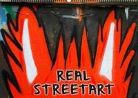 REAL STREETART (Wandkalender 2022 DIN A2 quer)
