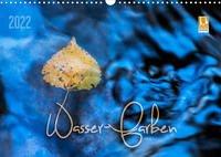 Wasser-Farben (Wandkalender 2022 DIN A3 quer)