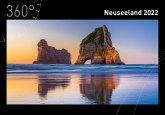 360° Neuseeland Kalender 2022