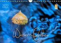 Wasser-Farben (Wandkalender 2022 DIN A4 quer)