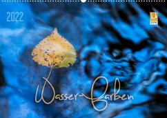 Wasser-Farben (Wandkalender 2022 DIN A2 quer)
