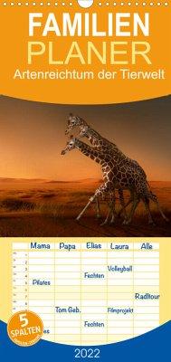 Artenreichtum der Tierwelt (Wandkalender 2022 , 21 cm x 45 cm, hoch)