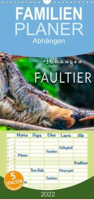 Abhängen - Faultier (Wandkalender 2022 , 21 cm x 45 cm, hoch)