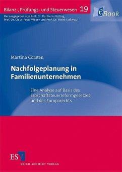 Nachfolgeplanung in Familienunternehmen (eBook, PDF) - Corsten, Martina