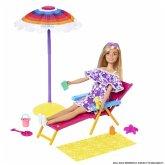 Mattel GYG17 Barbie Loves Strandtag Spielset