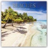 Beaches - Strände 2022 - 16-Monatskalender