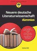 Neuere Deutsche Literaturwissenschaft für Dummies (eBook, ePUB)