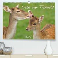 Liebe zur Tierwelt (Premium, hochwertiger DIN A2 Wandkalender 2022, Kunstdruck in Hochglanz)
