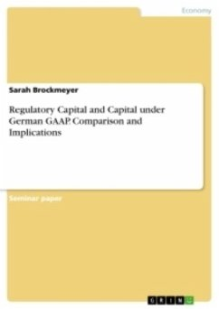 Regulatory Capital and Capital under German GAAP. Comparison and Implications