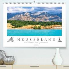 Neuseeland - Von Auckland nach Queenstown (Premium, hochwertiger DIN A2 Wandkalender 2022, Kunstdruck in Hochglanz)