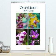 Orchideen (Premium, hochwertiger DIN A2 Wandkalender 2022, Kunstdruck in Hochglanz)