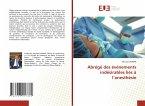 Abrégé des événements indésirables liés à l'anesthésie