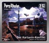 Perry Rhodan Silber Edition (MP3 CDs) 155: Der Kartanin-Konflikt, MP3-CD