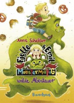 Monstermäßig wilde Abenteuer / Fjelle und Emil Bd.2 (Mängelexemplar) - Scheller, Anne