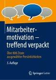 Mitarbeitermotivation – treffend verpackt (eBook, PDF)