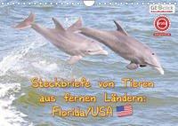 GEOclick Lernkalender: Steckbriefe von Tieren aus fernen Ländern: Florida/USA (Wandkalender 2022 DIN A4 quer)