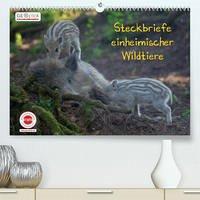 GEOclick Lernkalender: Steckbriefe einheimischer Wildtiere (Premium, hochwertiger DIN A2 Wandkalender 2022, Kunstdruck in Hochglanz)