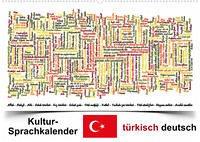 Kultur-Sprachkalender Türkisch-Deutsch (Wandkalender 2022 DIN A2 quer)