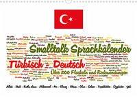 Smalltalk Sprachkalender Türkisch-Deutsch (Wandkalender 2022 DIN A3 quer)