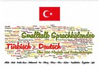 Smalltalk Sprachkalender Türkisch-Deutsch (Wandkalender 2022 DIN A2 quer)