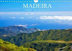 Madeira - Juwel im Atlantik (Wandkalender 2022 DIN A4 quer)