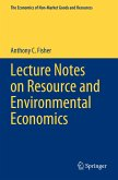 Lecture Notes on Resource and Environmental Economics