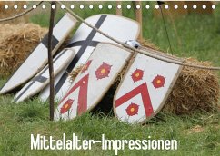 Mittelalter-Impressionen (Tischkalender 2022 DIN A5 quer)