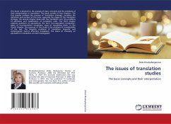 The issues of translation studies