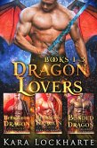 Dragon Lovers: A Collection of 3 Books of Fated Mates Dragon Shifter Romance (eBook, ePUB)
