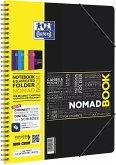 OXFORD Studium A4+ Nomadbook, 7 mm liniert, 80 Blatt, SCRIBZEE® kompatibel, 1 Stück sortiert