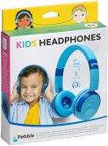 Pebble Gear - KIDS HEADPHONES, Kinder-Kopfhörer, Stereo, blau