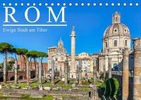 Rom - Ewige Stadt am Tiber (Tischkalender 2022 DIN A5 quer)