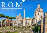 Rom - Ewige Stadt am Tiber (Wandkalender 2022 DIN A4 quer)