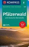 KOMPASS Wanderführer Pfälzerwald und Deutsche Weinstraße 1:55.000