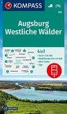 KOMPASS Wanderkarte Augsburg, Westliche Wälder