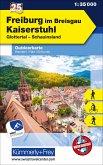 Freiburg im Breisgau Kaiserstuhl Nr. 25 Outdoorkarte Deutschland 1:35 000