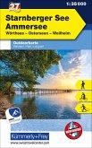 Starnberger See Ammersee Nr. 27 Outdoorkarte Deutschland 1:35 000
