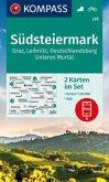 KOMPASS Wanderkarte Südsteiermark, Graz, Leibnitz, Deutschlandsberg, Unteres Murtal (2-K-Set)