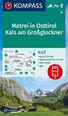 KOMPASS Wanderkarte Matrei in Osttirol, Kals am Großglockner