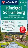KOMPASS Wanderkarte Kinzigtal Schramberg, Haslach, Wolfach, Schiltach, Hornberg
