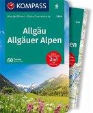 KOMPASS Wanderführer Allgäu, Allgäuer Alpen