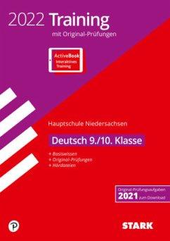 STARK Original-Prüfungen und Training Hauptschule 2022 - Deutsch 9./10. Klasse - Niedersachsen