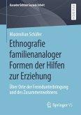 Ethnografie familienanaloger Formen der Hilfen zur Erziehung (eBook, PDF)